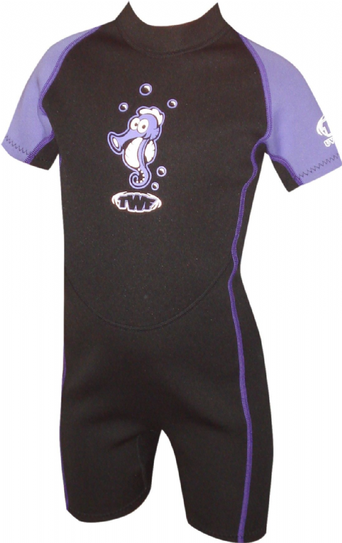 TWF SEAHORSE 2MM KIDS SUMMER WETSUIT (AGE 2-10)